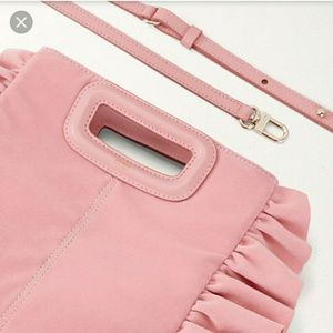 Maje Bags - NWT Maje Mruffle Frilled M Bag
